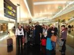 În aeroportul din Barcelona